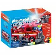 Camion De Bomberos Playmobil Unidad De Rescate - 5682