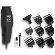 Maшинка за подстригване Wahl Home Pro 100, 8 приставки, Черна, WAH.13950460