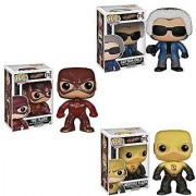Flash TV Series Set: Flash Reverse Captain Cold Pop! Vinyl Figures