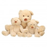 Happy Horse 3x Pluche mama en kind Boogy knuffelberen 35/24 cm knuffels - Knuffelberen