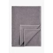 C&A Handdoek-biokatoen-100 x 150 cm, Grijs, Maat: 1 maat