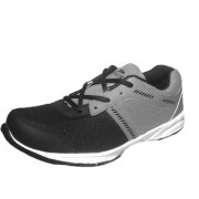 uwok Men's Casual Mesh Lace-Up Light Grey Sports Shoes