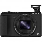 Digitalni fotoaparat Sony DSC-HX60B 20.4 MPix Zoom (optički): 30 x Crna Full HD video zapis, WiFi, Nastavak za bljeskalicu