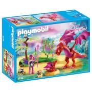 Playmobil Fairies, Dragonul prietenos si puiul sau