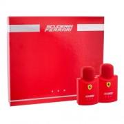 Toaletní voda Ferrari Scuderia Ferrari Red M Kazeta - - Edt 75ml + 75ml voda po holení