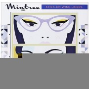 Mintree Stick-On Wing Eyeliners Classic Black Disco Blue