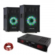 Fenton Set Altavoz PA TL8LED + Amplificador PA Skytec SPL1000BT (PL2x-)