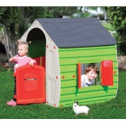 starplast Magical House Casetta Bambini Giochi Per Esterno In Resina Termoplastica Cm 102x90x109h Colore Assortiti - Magical House