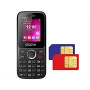 SMART+ T102 Feature Mobile Phone - Dual SIM, 1.77