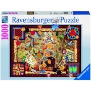 Puzzle jocuri antice, 1000 piese Ravensburger
