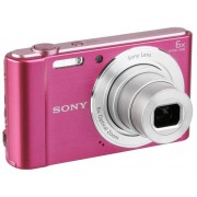Sony Cámara Compacta SONY CYBER-SHOT DSC-W810 (Rosa - 20.1 MP - ISO: 100 a 3200 - Zoom Óptico: 6x)