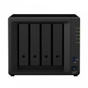 Synology Servidor NAS DS418 de 4 Bahías, Realtek RTD1296 1.40GHz, 2 GB DDR4, 2x USB 3.0 - no incluye Discos