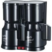 SEVERIN Duo koffiezetapparaat KA 5828 1 L Zwart