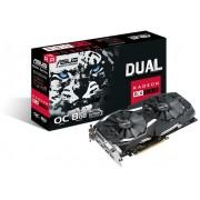 Asus grafička kartica Dual Radeon RX 580 OC, 8GB GDDR5