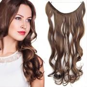 Flip in vlasy - vlnitý pás vlasů - odstín 10 - Světové Zboží