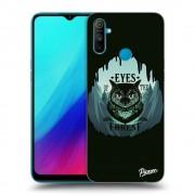 Átlátszó szilikon tok az alábbi mobiltelefonokra Realme C3 - Forest owl