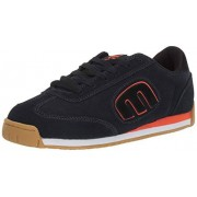 Etnies Lo-Cut II LS Zapatillas de Skate para Hombre, Negro, Anaranjado, Azul Marino (Navy/Black/Orange), 6 US
