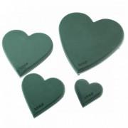 7442 Szív műanyag ECObase Herz 19x20x4,5cm (2 db/szett)