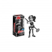 Funko Rock Candy Harley Quinn Black And White Exclusiva Dc