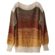La Redoute Пуловер с вырезом-лодочкой из тонкого трикотажа