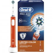 Periuta electrica Oral-B PRO 400 CrossAction Orange