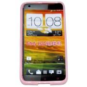 Силиконов гръб ТПУ за HTC Butterfly X920D Розов