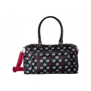 Betsey Johnson Sporty Weekender Bag BlackMulti