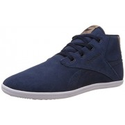 Reebok Classics Men's Royal Chka Refocus Blue,Grey,White And Light Brown Sneakers - 10 UK