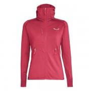 Salewa Agner Hybrid PL/DST - giacca in pile con cappuccio - donna - Pink