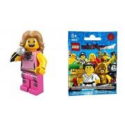 Lego (Lego) Mini Figures Series 2 Idols Pop Star (Minifigure Series 2) 8684-11
