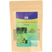 AK FOOD Herbs Natural Dried Moringa Powder 300 Grams Pack of 1