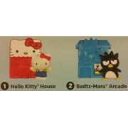 Mcdonalds 2016 HELLO SANRIO - #1 Hello Kitty House & #2 Badtz-Maru Arcade