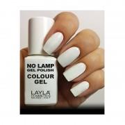 Layla No Lamp Gel Polish Colour Gel - 1 Straight White