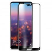 Folie sticla securizata 5D Full Glue Huawei P20 Negru