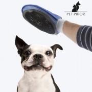 Borsta handske för hund och katt