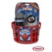 Spiderman - Accesorii Bicicleta Cos Sticla Apa Clopotel
