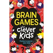 Brain Games for Clever Kids: Puzzles to Exercise Your Mind, Paperback/Gareth Moore