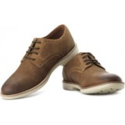 Clarks Raspin Walk Corporate Casuals For Men(Brown)