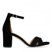 Sacha Zwarte sandalen met hak