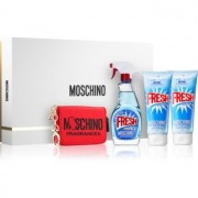 Moschino Fresh Couture coffret VII. Eau de Toilette 100 ml + gel de banho 100 ml + leite corporal 100 ml + carteira