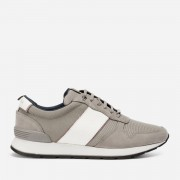 Ted Baker Men's Lhennis Textile/Nubuck Running Style Trainers - Grey - UK 7 - Grey