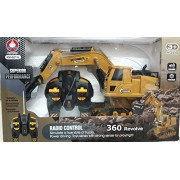 Play Design Excavator & Bulldozer Construction Vehicle Toy (Multicolor)