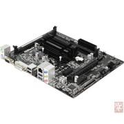 ASRock Q1900M, Intel J1900 2.0GHz, 2xDDR3, PCI-Ex16, SATA2, 1xPCIex, VGA/DVI/HDMI/USB3.0, mATX