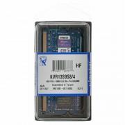 Kingston Pamięć RAM Kingston SODIMM DDR3 KVR13S9S8/4