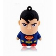 Storme Superman 16 GB Pen Drive(Red, Blue)