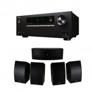 Pachet Receiver AV Onkyo TX-SR252 + Boxe Dayton Audio HTS-1200B