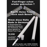 wischmopshop by Axis24 GmbH Fuel-Finger, Fuelhawk, Fuel-Gauge Schutzrohr black