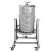 Presa za grožđe na vodu INOX 100L Zottel