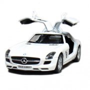 Kinsmart Mercedes Benz SLS AMG 1:36 Scale Diecast Car, (Color may very)