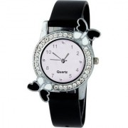 iDIVAS Black diamond studded Of the Year Limited Stock With 1 year Warranty Watch - For Girls